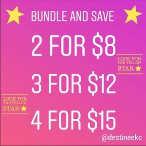 See below⬇️ Other - All throughout my closet check out the $5.00 items